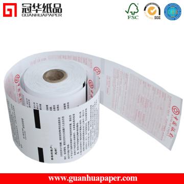 Fichier imprimé personnalisé imprimé sur papier thermique