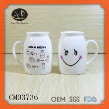 Taza de cerámica divertida de la taza de la promoción, tazas de café y tazas, taza de café divertida