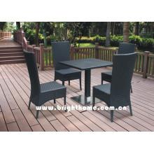 Muebles al aire libre / muebles de la rota del PE / que cenan el sistema / muebles de la felpa / muebles del jardín