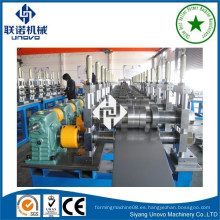 Estructura metálica C / Z / U rodillo de Purlin que forma la máquina