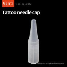 Tampa plástica da agulha da tatuagem da composição permanente