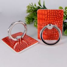 China Gold Supplier for Promotional Plastic Phone Ring Holder Fashion Crocodile pattern phone stent export to France Manufacturers