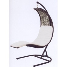 Outdoor Metal Rattan Swing Chair