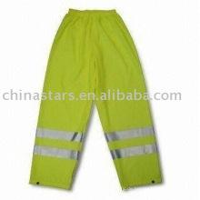 EN471 Hi Sichtbarkeit Reflektierende Sicherheits-Regenbekleidung