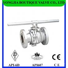 Monter flottante industrielle robinet à tournant sphérique