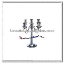 T202 H315mm Stainless Steel 5 Heads Candle Holder