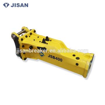 El precio de fábrica JSB400 excavador montó la máquina hidráulica concreta del triturador de martillo