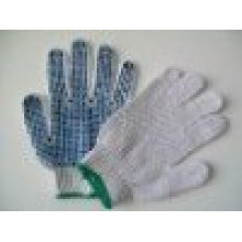 sunnyhope blue pvc dotted gloves