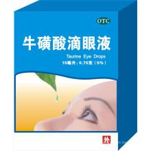Taurin-Augentropfen, Zinksulfat und Allantoin-Augentropfen