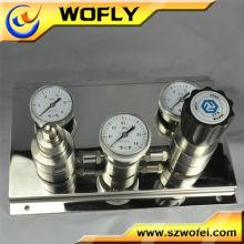 Régulateur de pression semi-automatique en argon en acier inoxydable