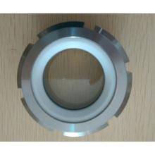 Fijación del tubo del vidrio de la vista del acero de Hotsale
