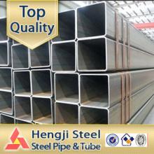 Schwarzes quadratisches Stahlrohr-Hohlprofil