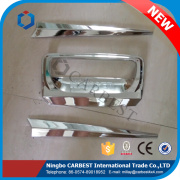 High Quality Chrome Accessories For Ford Ranger 2015 Trunk Lid Moulding