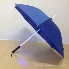 Fashion OEM ODM LED Flashlight Customized Straight Umbrella with Logo Printing