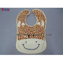 "13"" Baby Infant Personalized Plush Giraffe Baby Bibs"