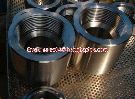 NPT forged coupling