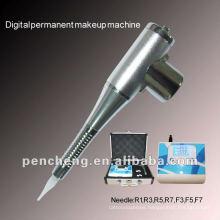 Digital permanent makeup LCD tattoo machine