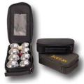 Chrom Boccia Ball Set in Nylontasche