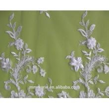 Marfim Bordados Flor Sequins Vestidos De Casamento De Casacos, Decorações 52 '' No.CA105AB