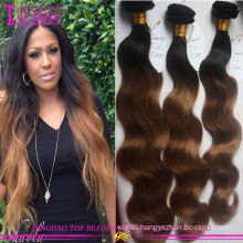 100% Virgin Human Hair Weave Body wave omber #1b/8 Brazilian Remy Hair