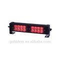 Carro vermelho impermeável, aviso de luzes estroboscópicas 12V levado luzes de convés (SL781)