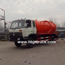 Dongfeng 10000 litros Cesspit camión más vacío