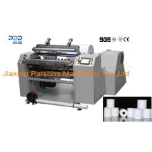 Rollo de papel térmico completamente automático de alta calidad que raja la maquinaria del rebobinador