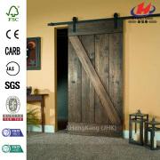 Hete deur van de schuur met deur Hardware Kit