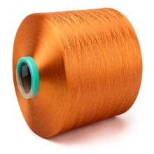 Fil de polyester DTY entremêlé léger à filaments élevés