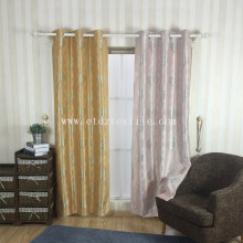 Factory source manufacturing for Brown Blackout Curtains Faux linen blackout window fabric export to New Caledonia Factory