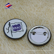 Custom special round printed gifts logo tin pin