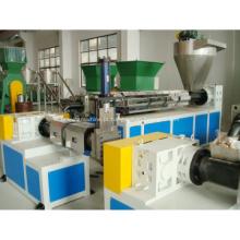 extrusora de parafuso único de plástico automática