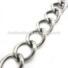 Moda Alta Qualidade Metal 316 Cadeia De Aço Inoxidável