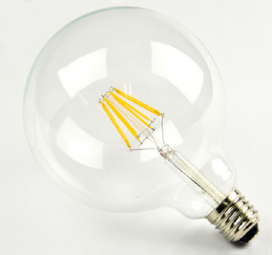 Ampoules à incandescence LED 6W G80