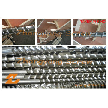 Baril de vis bimétallique de baril de vis d'extrudeuse de baril de vis d'extrusion de PE