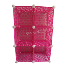 ABS Material Pink Storage Shelf, Best Choice for Gift