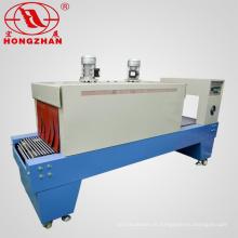 Automática máquina de encolhimento com máquina de selagem para Auto Shrink e o selo da embalagem com Reticular transportadora e calor elétrico tubo térmico