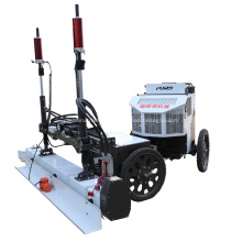 Machine de nivellement de sol pour chape de béton à quatre roues