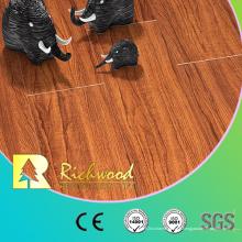 Plancher en bois stratifié par U-Grooved de noix de relief de noix de vinyle de HDF de 8.3mm