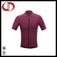 Wholesale Sportswear Plain Short Sleeve Cycling Jersey
