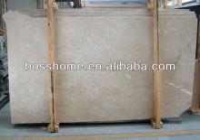 Turkey sugar beige marble slab tile