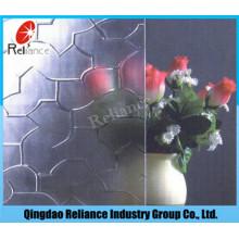 Klar Karatachi Muster Glas / Klar Karatachi Figur Glas / 3mm / 3,5mm / 4mm / 4,5mm / 5mm / 5,5mm / 6mm klar Puzzle Muster Glas