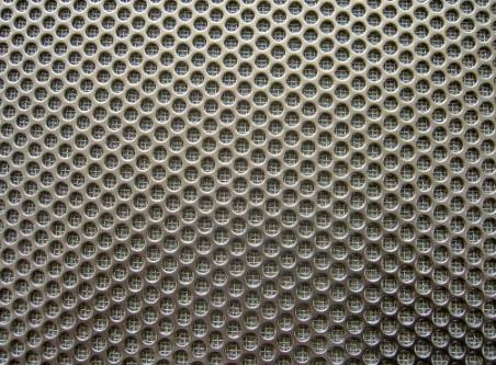 Perforated Sheet with Sintered Mesh