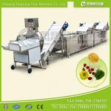 Automtaic de alto rendimiento de corte de vegetales lavado de limpieza de procesamiento de línea (CWA-2000)