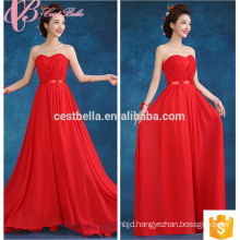Red Chiffon Tall Mother Of The Bride Dresses Floor Length Long For Fat 2017