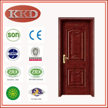 Europe Style Steel Wood Door JKD-1193 for Apartment Interior Use