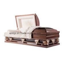 Marrom e preto caixão (18280119)