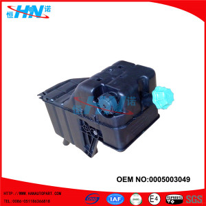 Spare Parts For Mercedes Benz Actros Truck Expansion Tank 0005003049