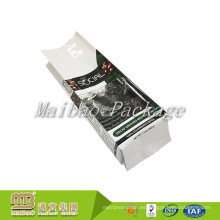 Bolsita plástica laminada aduana del grano de café del refuerzo del papel de aluminio 340g 12oz de la categoría alimenticia
