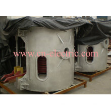Coreless Medium Frequency Inductive Melting Electric Furnace